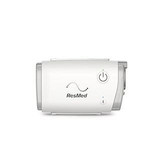 airmini-travel-PAP-machine-front-view-resmed